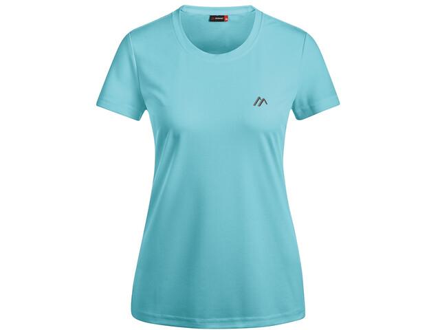 Maier Sports Waltraud t-shirt Dames, angel blue